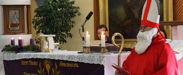 Szeged-Szentmihály, Mikulás ünnepség a templomban