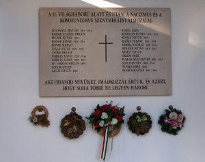 megemlékezés a háborúk és a diktatúrák áldozatairól