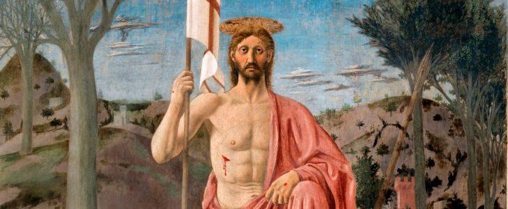 Jézus feltámadása - Piero della Francesca festménye