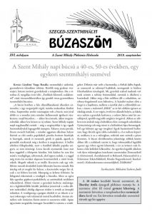 Szentmihály, Búzaszöm szeptemberi száma 2019